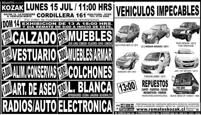 13.07.2013 LT Sabado (120) : Provincia : 117 : 117 AVISO