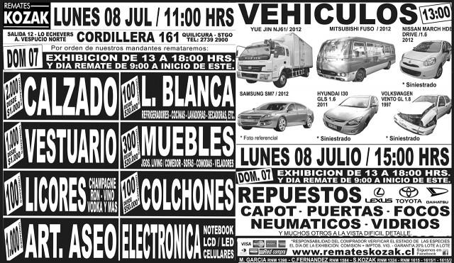 06.07.2013 LT Sábado (128). : Santiago : 125 : 125 AVISO