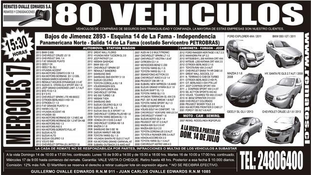 13.07.2013 LT Sabado (120) PARCHE : Provincia : 116 : 116 AVISO