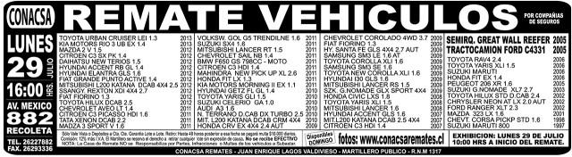 27.07.2013 LT Sabado (128) : Provincia : 124 : 124 AVISO