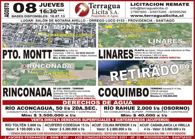 27.07.2013 LT Sabado (128) : Provincia : 125 : 125 AVISO