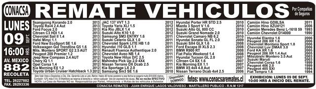 07.09.2013 LT Sábado (136) : Provincia : 132 : 132 AVISO