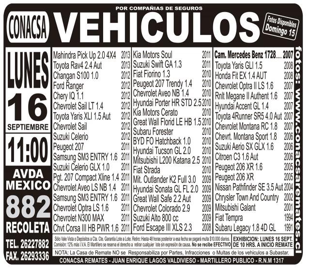 14.09.2013 LT Sábado (112) : Provincia : 109 : 109 AVISO