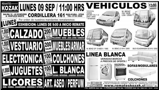 07.09.2013 LT Sábado (136) : Provincia : 133 : 133 AVISO