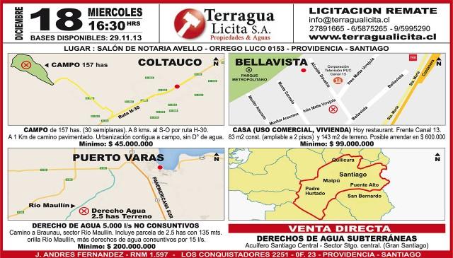 14.12.2013 LTSábado (136) : Provincia : 133 : 133 aviso