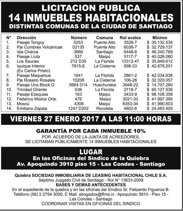 14.01.2017 LT Sabado (104) : Provincia : 99 : 99