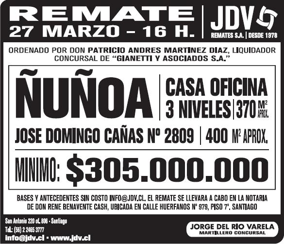 RematesÑUÑOA_JDV