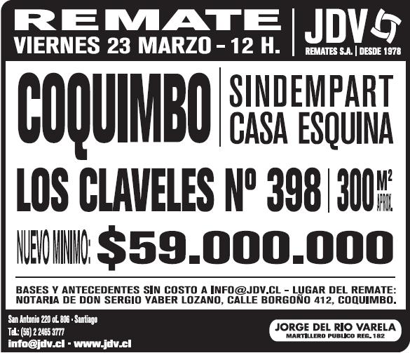 Remates_Coquimbo_losclaveles